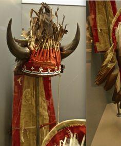Ishatai bonnet, Kiowa, pre 1870.  Panhandle Plains Mus.  ac