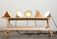 Concrete Lamps by Itai Bar On & Oded Webman in home furnishings Category