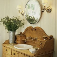 Spaces French Country Vanity Design, Pictures, Remodel, Decor and Ideas - page 3