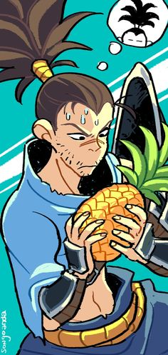 YASUO FOUND HIS BROTHER THE PINEAPPLE League Of Legends Comic, Fanart, Animes Wallpapers, Funny Art, Dear God, Cute Art, Samurai, Pineapple, Brother