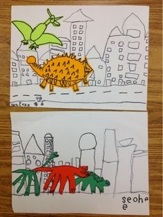 Mrs. Knight's Smartest Artists: If the Dinosaurs Came Back
