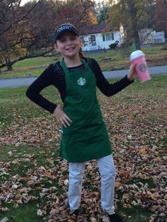 My starbucks barista!! Best costume ever!!