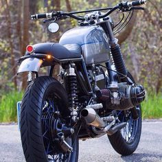 Habermann & Sons Classic Motorcycles and more: Photo Bmw Cafe Racer, Cafe Racer Motorcycle, Classic Motorcycle, Bmw Scrambler, Bmw Boxer, Street Tracker, Bobber, Motorbikes, Yamaha