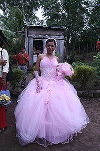 Quinceañera - When a girl turns 15, there will be a big party.