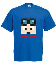 Dan TDM T Shirt Adventures Diamond Youtuber Birthday Girls Boys Kids Christmas