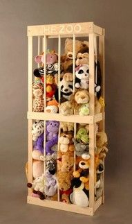 Stuffed animal zoo... so could have used this as a kid