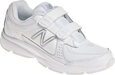 New Balance Womens WW411 Hook and Loop WW411HWT,    #NewBalance,    #WW411HWT,    #VelcroShoes