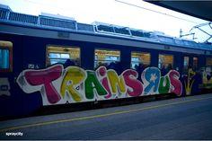 Graffiti Trains R us