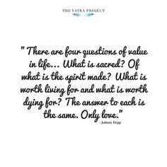 Johnny Depp  #quote #inspirationalquote #inspiration #uplifting #instaquote #johnnydepp by theyatraproject