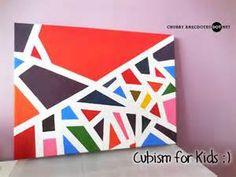 Cubism Art for Kids