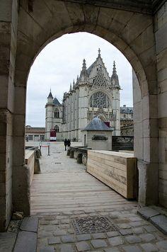 Le château de Vincennes et la Sainte-Chapelle