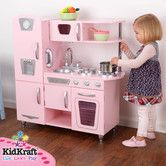 Found it at Wayfair - Pink Vintage Kitchen $129 plus free shipping for Penny