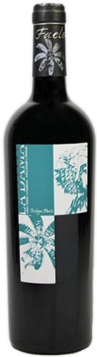 La Dama. Bodegas Faelo El vino tinto crianza de uva Cabernet Suavignon y Monastrell