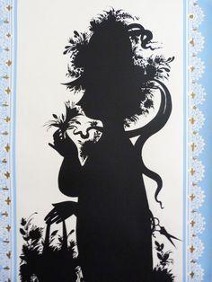 Bjorn Wiinblad screen print poster Bunbury 1963 170cm x 62.5cm long by  planetutopia on Etsy 0c8c42ec9265a