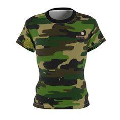 d039f6da48ac1 Keiko Women s Camouflage Military Army Print Crew Neck Tee - Made in U –  heidikimurart Army. Heidi Kimura Art LLC