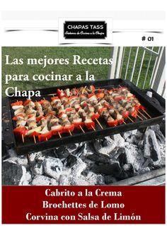 Recetas chapas tass #01 Make It Simple, Lemon Sauce, Sheet Metal, Best Recipes, Sauces, Innovative Products, Food