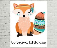 Hey, I found this really awesome Etsy listing at https://www.etsy.com/listing/464848568/fox-print-nursery-tribal-fox-tribal