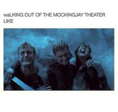 This is really funny like just stare at all of their faces Finnick looks like he's pooping