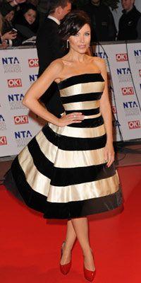Dannii Minogue in reworked Costa vintage dress.