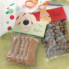 Dog Biscuits Recipe -If members of your family are of the furry, four-legged kind, treat them to these homemade biscuits. They're a cinch to make, and your canine pals will go crazy for the peanut butter flavor. —Ryan Nicholas, Pewaukee, Wisconsin