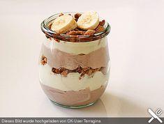 Bananen - Vanille - Schokocreme - Dessert