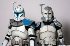 Captain Rex and Commander Wolf