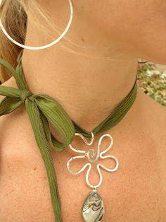 LilyGirl Jewelry: Silk Ribbon Gallery