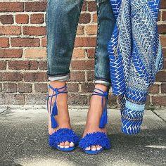 Bloggers Wearing Aquazzura's Wild Thing Sandals | POPSUGAR Fashion