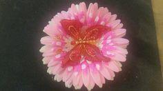 Butterfly flower clip