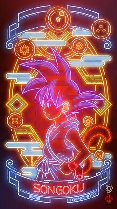 Dragon Ball SON GOKU by Kanchiyo How To Choose A Tool Box You're working on your car out in the gara Kid Goku, Goku Y Vegeta, Wallpaper Dbz, Dbz Wallpapers, Dragon Ball Gt, Memes Dbz, Dragonball Anime, Super Anime, Avengers