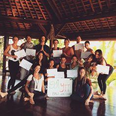 empowered yoga teacher training graduates www.sacredpathsyoga.com