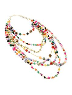 Amrita Singh Gibson multistrand necklace — looks like candy!