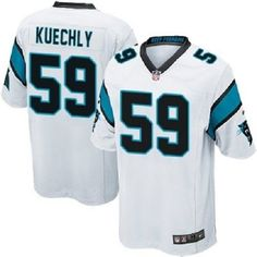 Celebrate your Carolina Panthers fandom with this Game Football jersey by Nike. It features printed Carolina Panthers and Luke Kuechly graphics letting everyone know who you cheer for. You will boast your team spirit with this Carolina Panthers jersey! Carolina Panthers Luke Kuechly, Carolina Panthers Gear, Jonathan Stewart, Official Nfl Football, Devonta Freeman, Nfl Uniforms, Nfl Shop, White Jersey, Nfl Jerseys