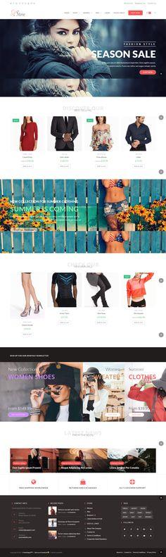 Website, Shopping, Clothes, Design, Women, Clothing, Women's, Kleding