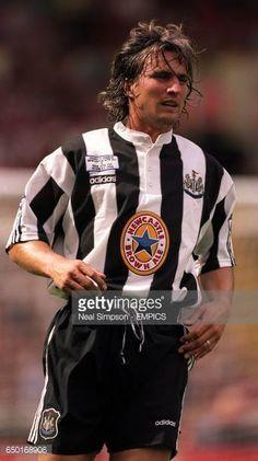 David Ginola, Newcastle United Football, Boys Playing, Black N White, Legends, Soccer, Army, England, Posters