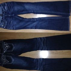 *SALE* JEANS Great price for these! I wore them a few times! They are in perfect shape! Look and feel new! The material is NICE! They are long lasting! Jeans Boot Cut