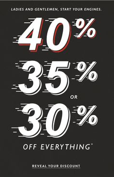 Lucky Brand Jeans : Reveal Your Discount #newsletter #email #sale