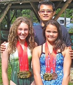 And six local swimmers qualified to compete at the Canadian Age Group Nationals July 24-29 in Montreal