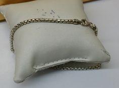 Vintage Armschmuck - Vintage Venezianer-Armband Silber 925 21 cm SA267 - ein Designerstück von Atelier-Regina bei DaWanda