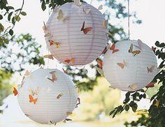 butterfly paper lamps martha stewart