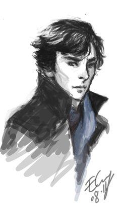 Sherlock by erowira.deviantart.com on @deviantART