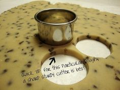 SugarBaker's Chocolate Chip Roll-Out Cookies - wow chocolate chip cookies that you can. Cut with a cookie cutter! Going to have to try!