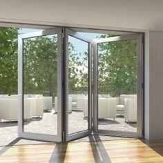 ventanas de aluminio plegables -