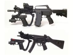 The piece attaching the glock 19 to the primary weapon is called the UTG19. Its a real piece of equipment...