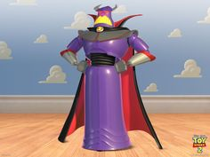 Evil Emperor Zurg from the Toy Story movies is on a mission to destroy Star Command and conquer the Galaxy. Description from lesliesullirose.blogspot.com. I searched for this on bing.com/images