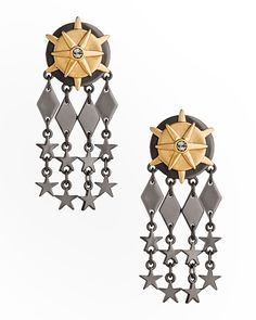 The Starry Fleet Earrings by JewelMint.com, $29.99