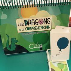 Les dragons de la compréhension - Orthophonie, rééducation, langage oral, attention, communication, compréhension, retard de langage, dysphasie, autisme TED TEC, surdité