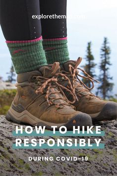 Are you wondering how to enjoy the outdoors responsibly during I sure was. Learn how to get outside while practicing social distancing and staying safe. Hiking Guide, Hiking Gear, Camping Gear, Activities For Adults, Hiking With Kids, Best Hikes, Day Hike, Hiking Equipment, Trekking