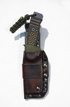 Leather and Kydex sheath by Martin Sheaths