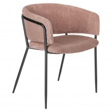Krzesło Konnie różowe sztruks Outdoor Chairs, Outdoor Furniture, Outdoor Decor, Rip Curl, Sorting, Pink, Design, Home Decor, Decoration Home